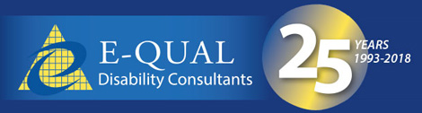 E-QUAL logo celebrating 25 years